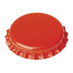 Chapas Naranjas 26mm 100 ud
