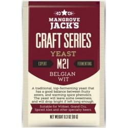 Levadura Mangrove Jack- Belgian Wit M21 - Craft Series