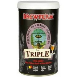 Kit Cerveza Triple - Brewferm -Extracto
