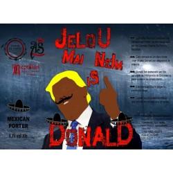 Reptilian/As/EDF Jelou Mai Neim is Donald