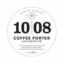 Brew By Numbers 10|08 Coffee Porter Gatomboya