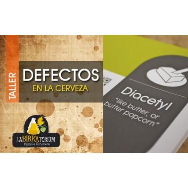 TALLER-CATA DE DEFECTOS EN LA CERVEZA -MIÉRCOLES 7 DE JUNIO