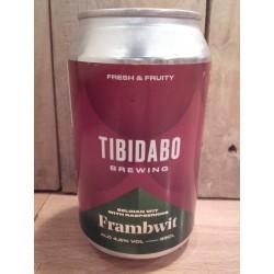Tibidabo Brewing Frambwit - Lata -
