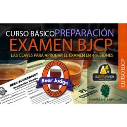 CURSO PRESENCIAL BÁSICO - PREPARACIÓNEXAMEN BJCP