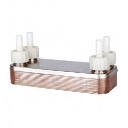 Enfriador de placas acero inoxidable - 12 placas