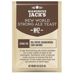 Levadura Mangrove Jack's New World Strong Ale Yeast