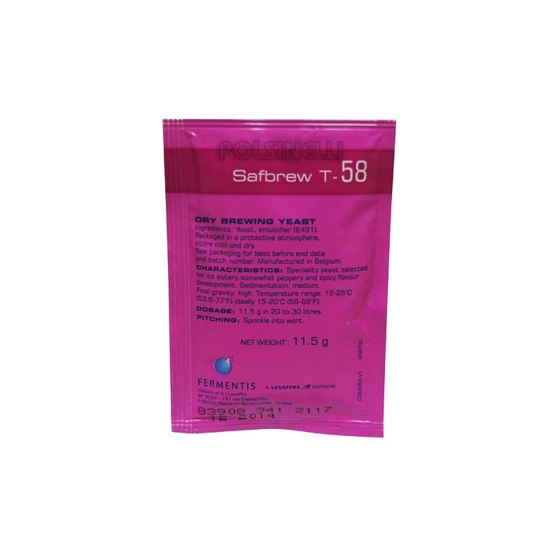 Levadura Safbrew Fermentis -  T58