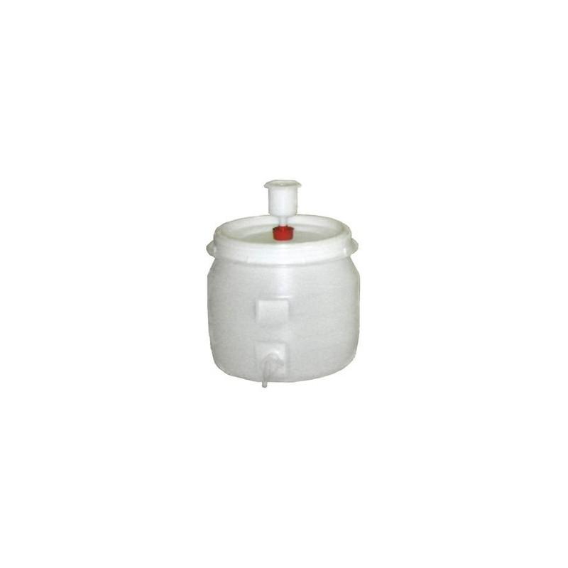 Bidón fermentador de 30 litros + grifo + válvula + tapa