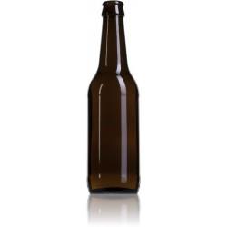 Botella marrón vacía 33cl