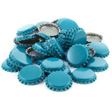 Chapas azules - 100 unidades
