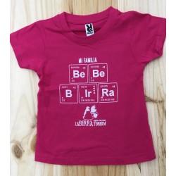 Camiseta infantil BeBeBIrRa