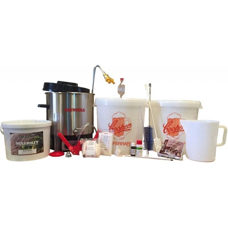 Equipo de Elaboración Todo Grano Avanzado con Ingredientes para 23 litros