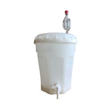 Cubo de fermentación completo 11 Litros
