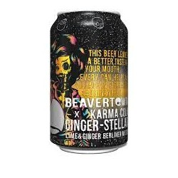 Beavertown / Karma Cola Ginger - Stellar