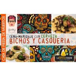 """Cata de """"Fiesta de Muertos"""" - Maridaje con comida mexicana- 25 Octubre"""