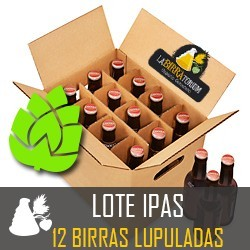 LOTE ipa- 12 CERVEZAS ESPECIALES