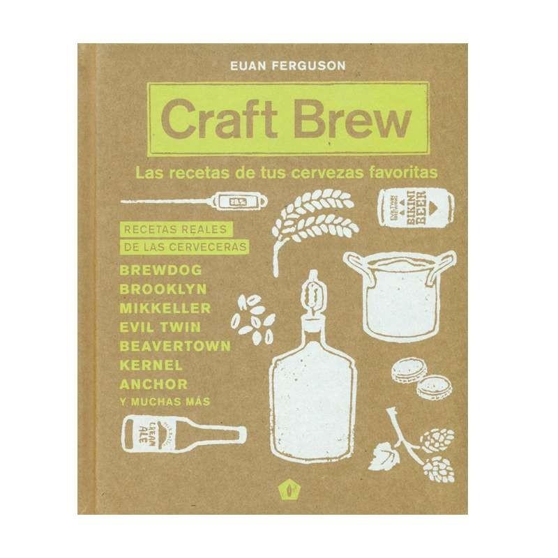 Libro: Craft Brew - Las recetas de tus cervezas favoritas