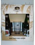 Pack Oud Beersel (2 Oude Gueze Vieille 37,5 cl. + 2 Oude Kriek Vieille 37,5 cl. + Vaso)