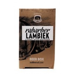 Oud Beersel Rabarber Lambiek Beer Box (Bag-in-Box) 3.1 L