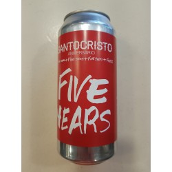 Santocristo Aniver5ario Five Years Red Ribeiro BA